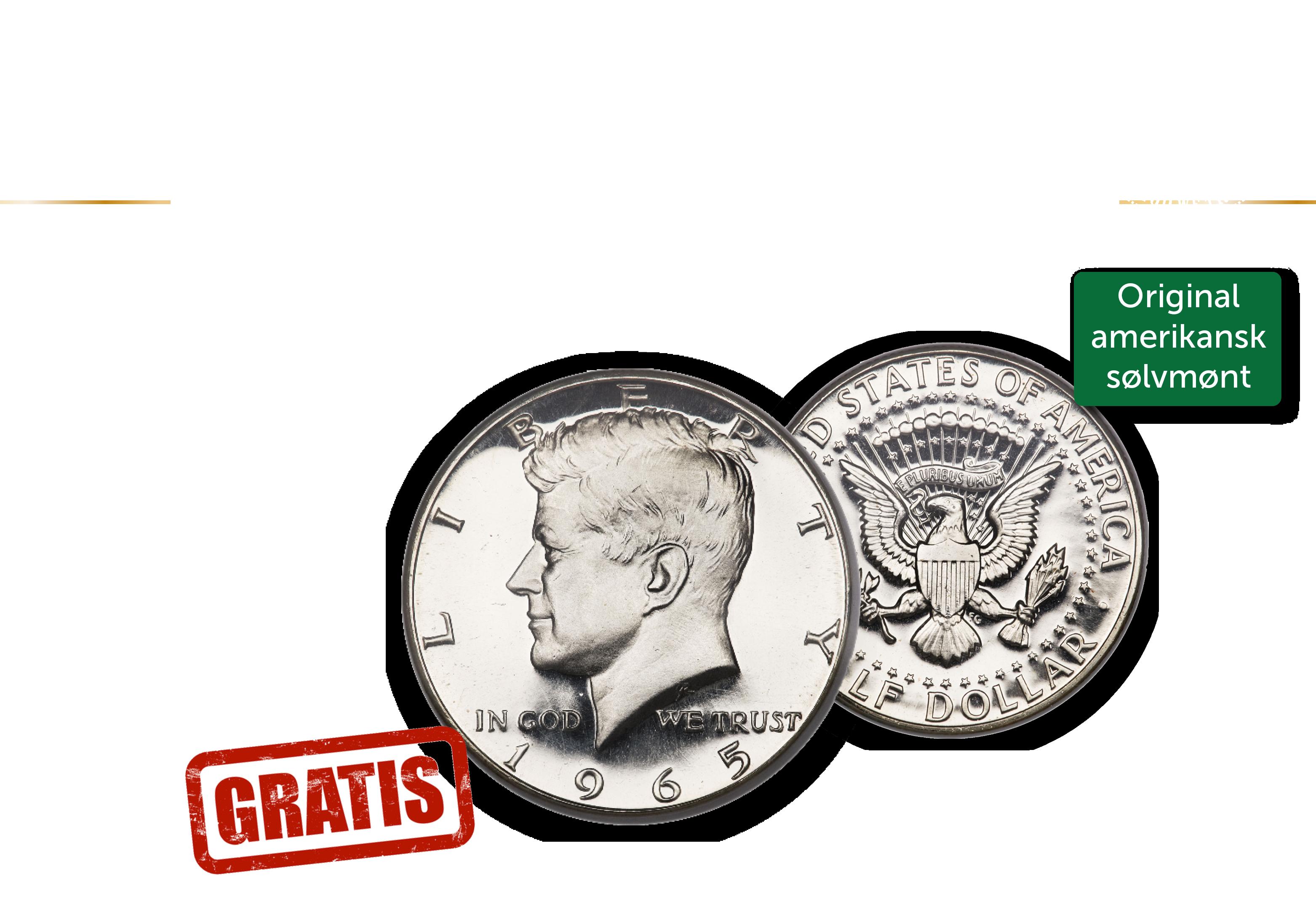 60-året for John F. Kennedys indsættelse som præsident fejres med et godt tilbud.