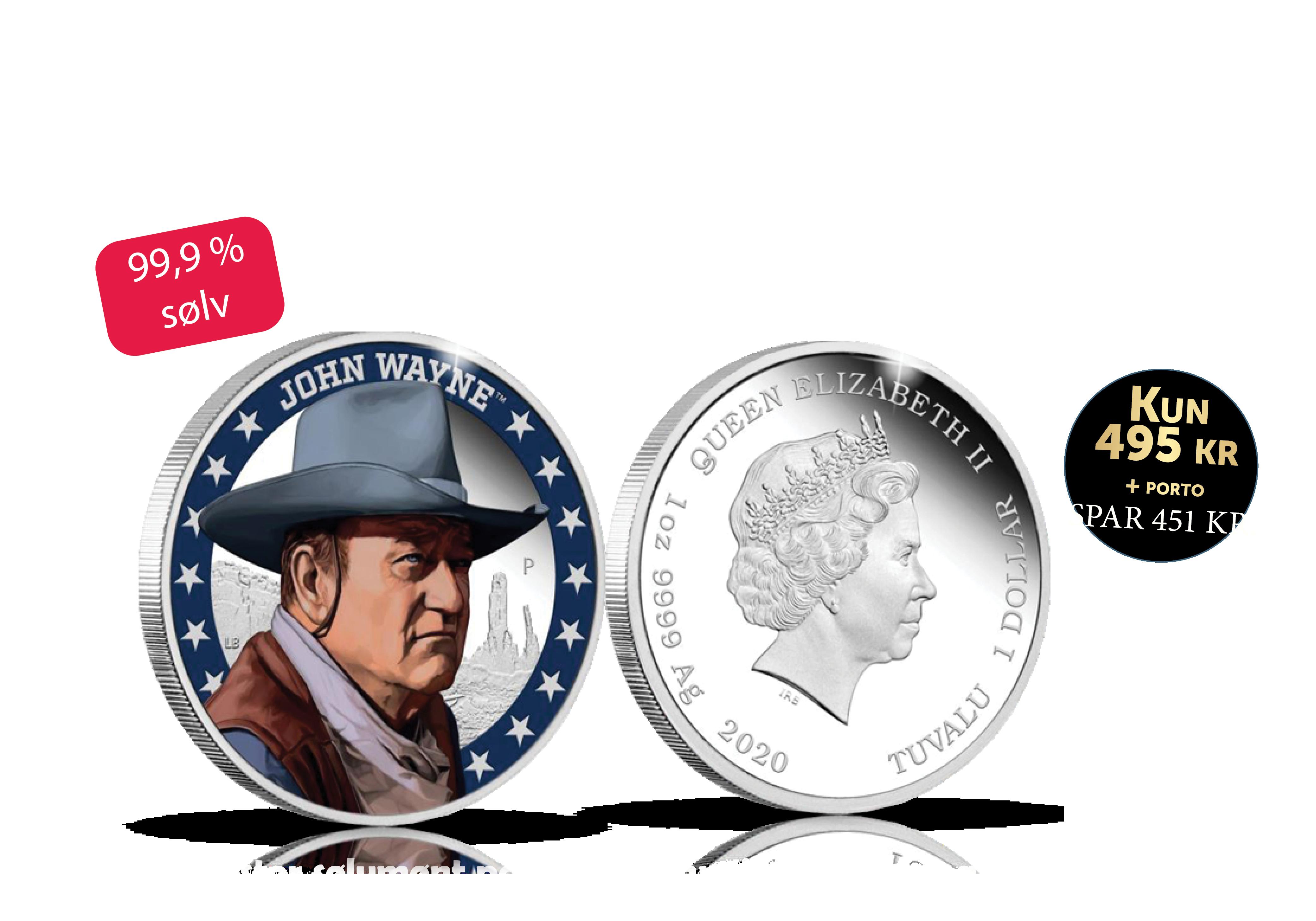 John Wayne er en af de mest populære amerikanske skuespillere i det 20. århundrede