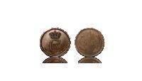 1 øre Christian XI 1874 - Udgivet af Christian IX - Europas svigerfar. Bestil Danmarks første øremønt i dag til kun 595 kr!