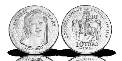 En sølvmønt fra Monnaie de Paris
