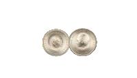 Flot erindringsmønt i 80%sølvfra Prinsesse Bendiktes bryllup den 3. februar1968.