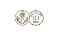 Den mest sjældne årgang af 10-ører udgivet under Frederik IX - 10-øre fra 1959. Bestil din 10-øre i dag og sikre dig et meget populær årgang af 10-ører udgivet under Frederik IX til kun 549 kr. (  49 kr. i porto).