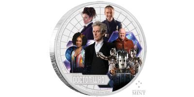 $2 Doctor Who Annual Coin 2017 1 oz Ag