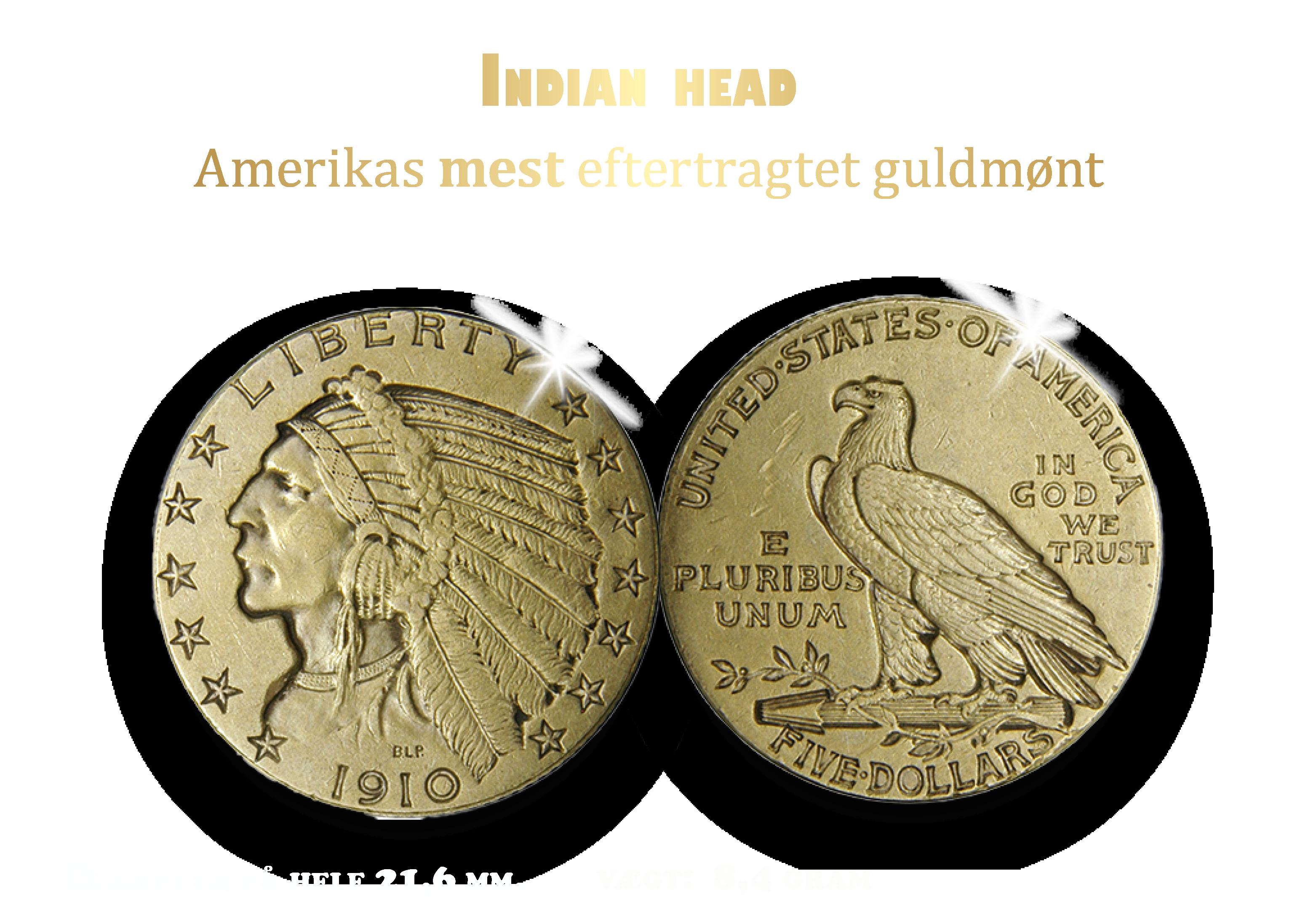 $ 5 Indian Head 1909-1929