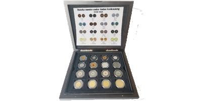 Anden Verdenskrigssæt 16 mønter