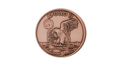 Apollo 11 Robbins Copper medal