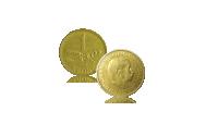 Vi mindes Danmarks Rytterkonge med dette besættelsessæt til kun 495 kr. Møntsættet består af ½ Krone 1940 som rent faktisk blev omsmeltet til en ny serie af mønter - nemlig den første årgang af 1-kroner med kongens protræt. Vi har kun et begrænset antal møntsæt til rådighed.