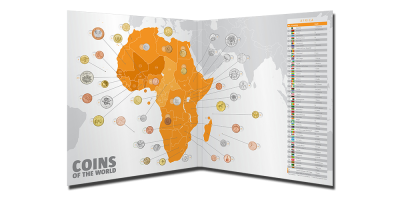 Coins of the World -Afrika - 43 mønter