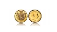 Danmarks Guldskat -  Christian X sidste 10-krone i guld