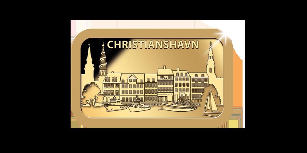 Det kræver kun et kort kig på bykortet for at se, hvorfor mange beskriver Christianshavn som hjertet af København.