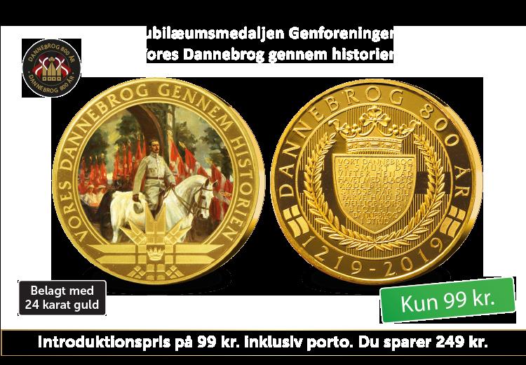 I 2020 markerer vi 100-året for Danmarks Genforening med en jubilæumsmedalje