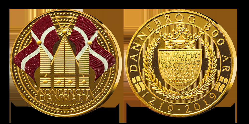 En speciel jubilæumsudgivelse forgyldt med 24 karat guld