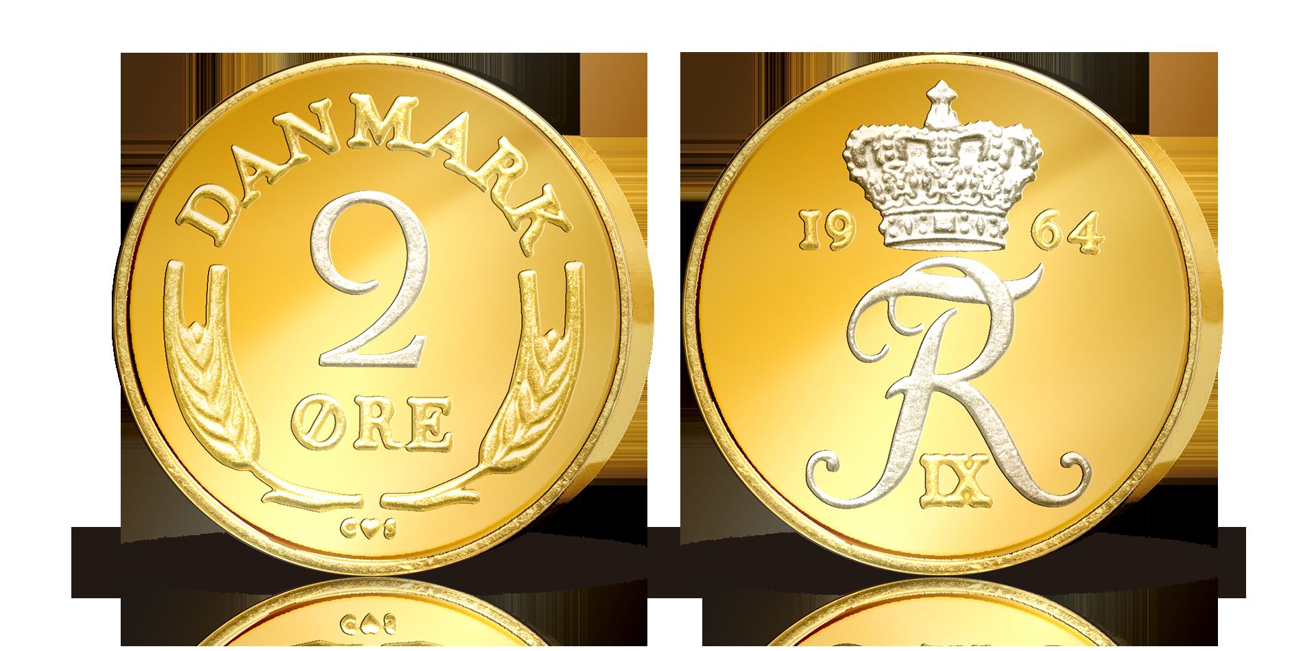 En originale danske mønt med en usædvanlig historie