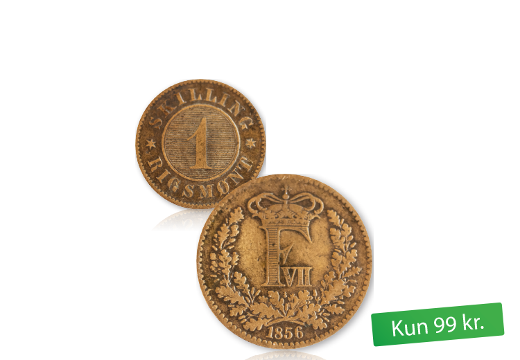 Danmarks første bronze skilling