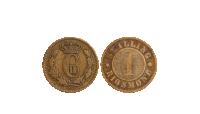 Mønthuset Danmark har glæden af at kunne tilbyde Danmarks sidste skillingemønt. 150 års historie for kun 99 kr