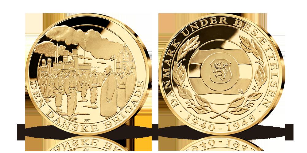 Den danske brigade - GRATIS medalje fra os til dig!