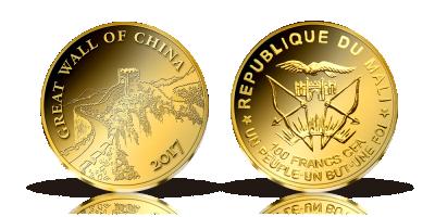 Verdens mindste guldmønt