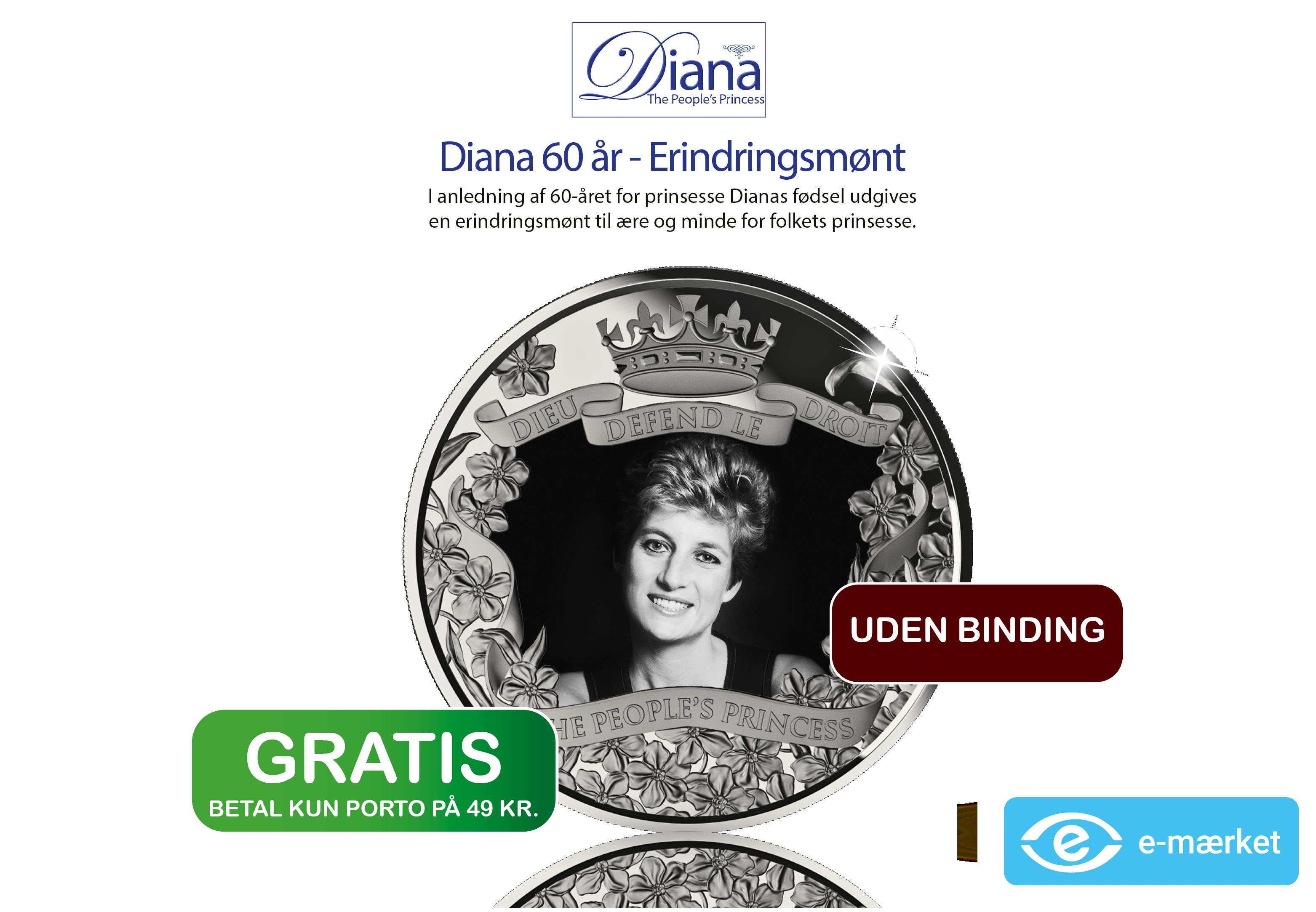 "Prinsesse Diana 60-års fødselsdag - ""Folkets Prinsesse"""