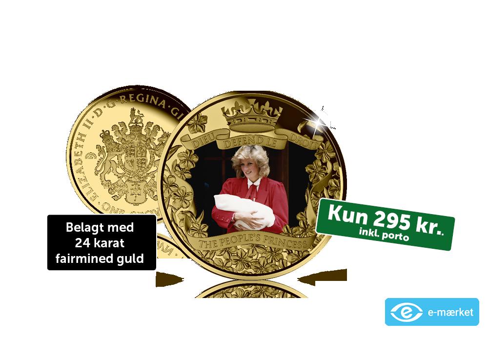 En officiel møntsamling til minde om den uforglemmelige Diana