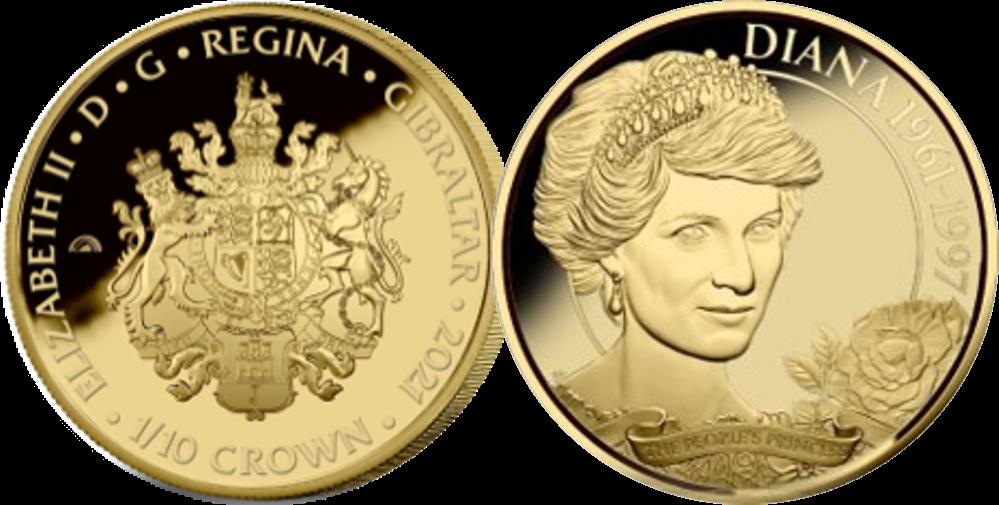 En officiel guldmønt til minde om den uforglemmelige Diana, prinsesse af Wales 60-års fødselsdag. En af verdens første mønter belagt med Fairmined rose gold nogensinde!
