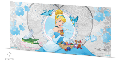 Disney Princess 5 g sølvseddel Askepot