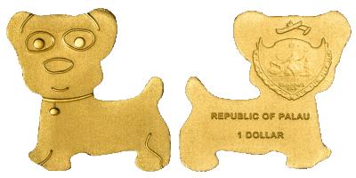 En hund i guld