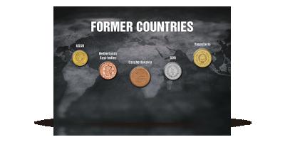 Mønter - som historiske vidner på at forsvundne lande har eksisteret