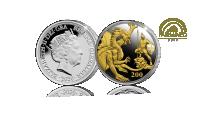 Full silver Sovereign 2020 belagt med fairmined guld