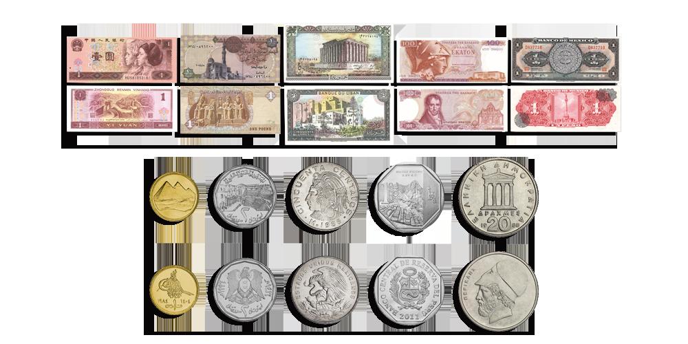Ancient Cultures Coin Set   Banknotes