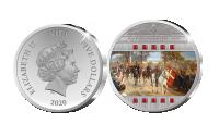100-året for Genforeningen - Sølvmønt belagt med swarovski krystaller