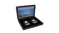 Dette sæt giver dig en enestående chance for at sikre dig de eneste to typer 30 drachmer, der nogensinde er præget i sølv.