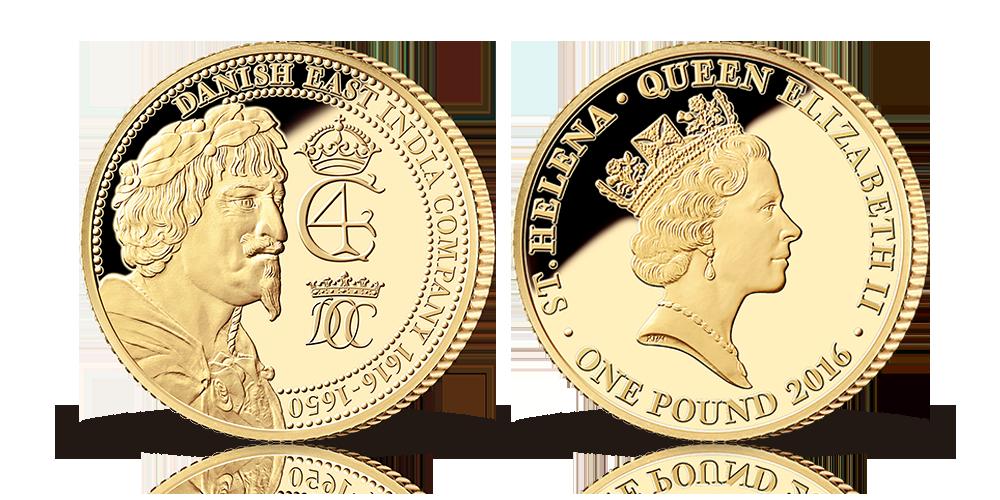 Guldmønt i 22 karat/ 91,6 % guld