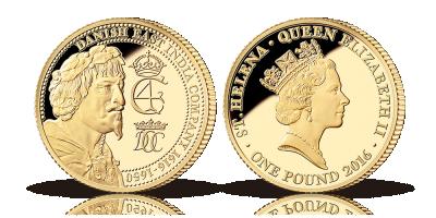 Dansk Ostindisk Kompagni 400 år - Guldmønt med Christian IV