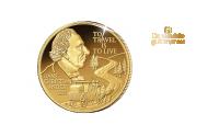 De mindste guldmønter: For første gang nogensinde med H.C. Andersen.