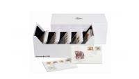 Passer til møntsæt, postkort, breve mv Invedige mål: 180 mm x 160 mm