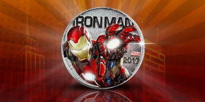 Iron Man - Lightup Coin 2017