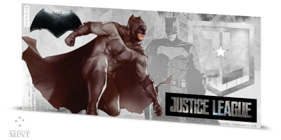 Justice League 5 g sølvseddel Batman