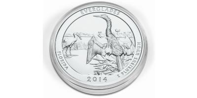 Kapsel til mønter med diameter mellem 53-101 mm (1stk.)