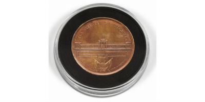 Kapsler til mønter med diameter mellem 29-76 mm (Pakke med 2 stk.)