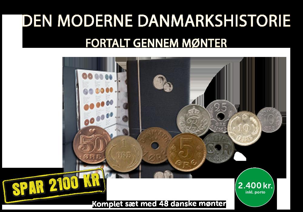 Danmarks historien fortalt gennem 48 mønter