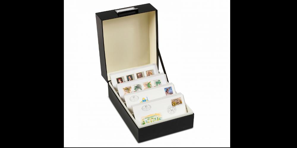 Arkivboks til møntsæt eller andre samleobjekter