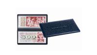 Praktisk lommealbum med 20 integrerede, transparente sider der gør det muligt for dig at kigge på dine pengesedler fra begge sider.