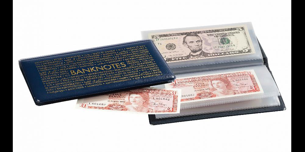 Lommealbum til pengesedler - S