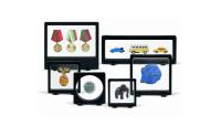 Sæt dine samlerobjekter såsom mønter, frimærker, ure, medaljer etc. ind i rampelyset med disse ekstraordinære rammer.