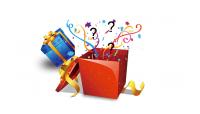 Overraskelsespakke med hemmelige produkter med temaet Kongehuset