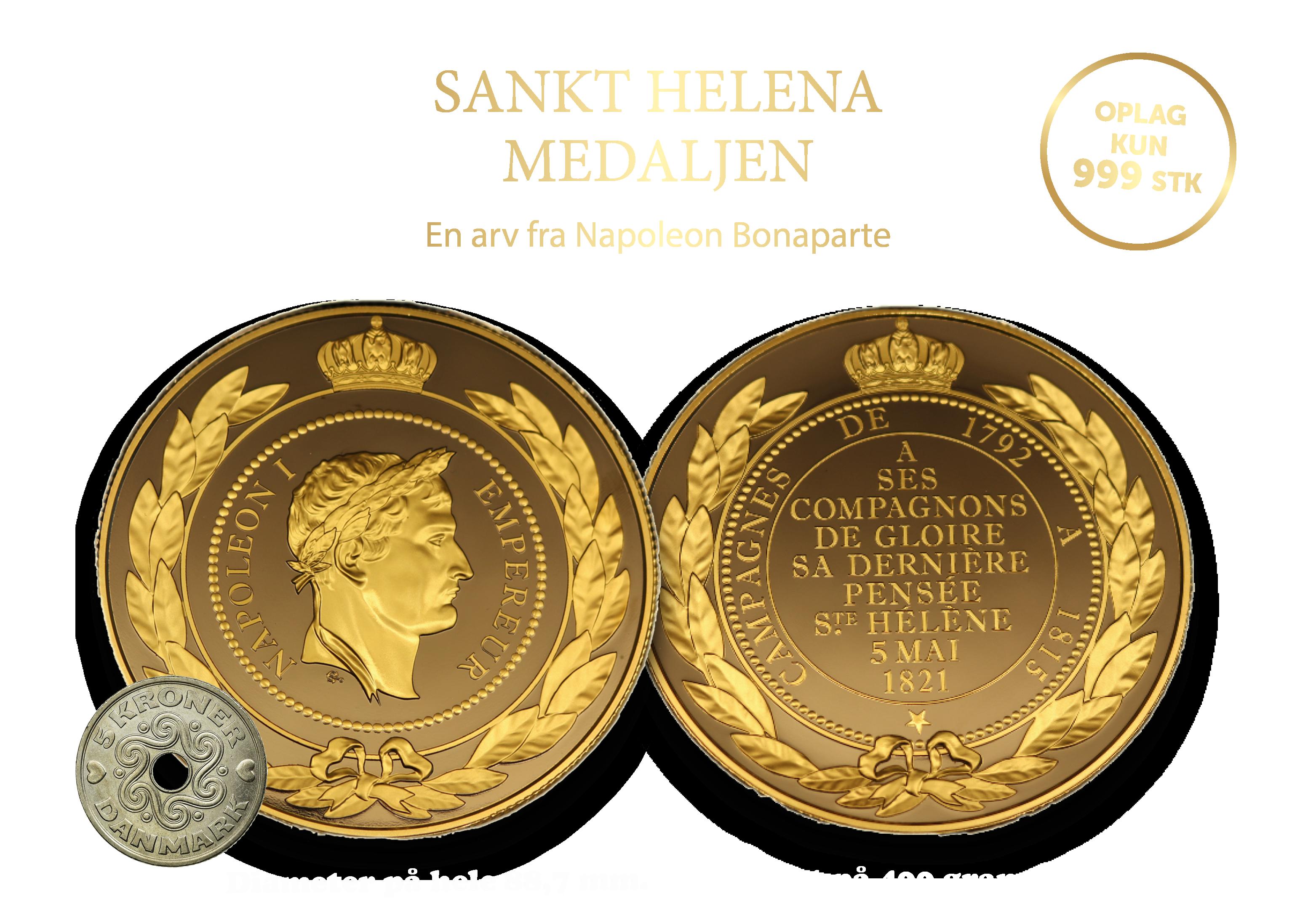 Sankt Helena Medaljen - En arv fra Napoleon Bonaparte