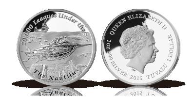 Nautilus sølvmønt