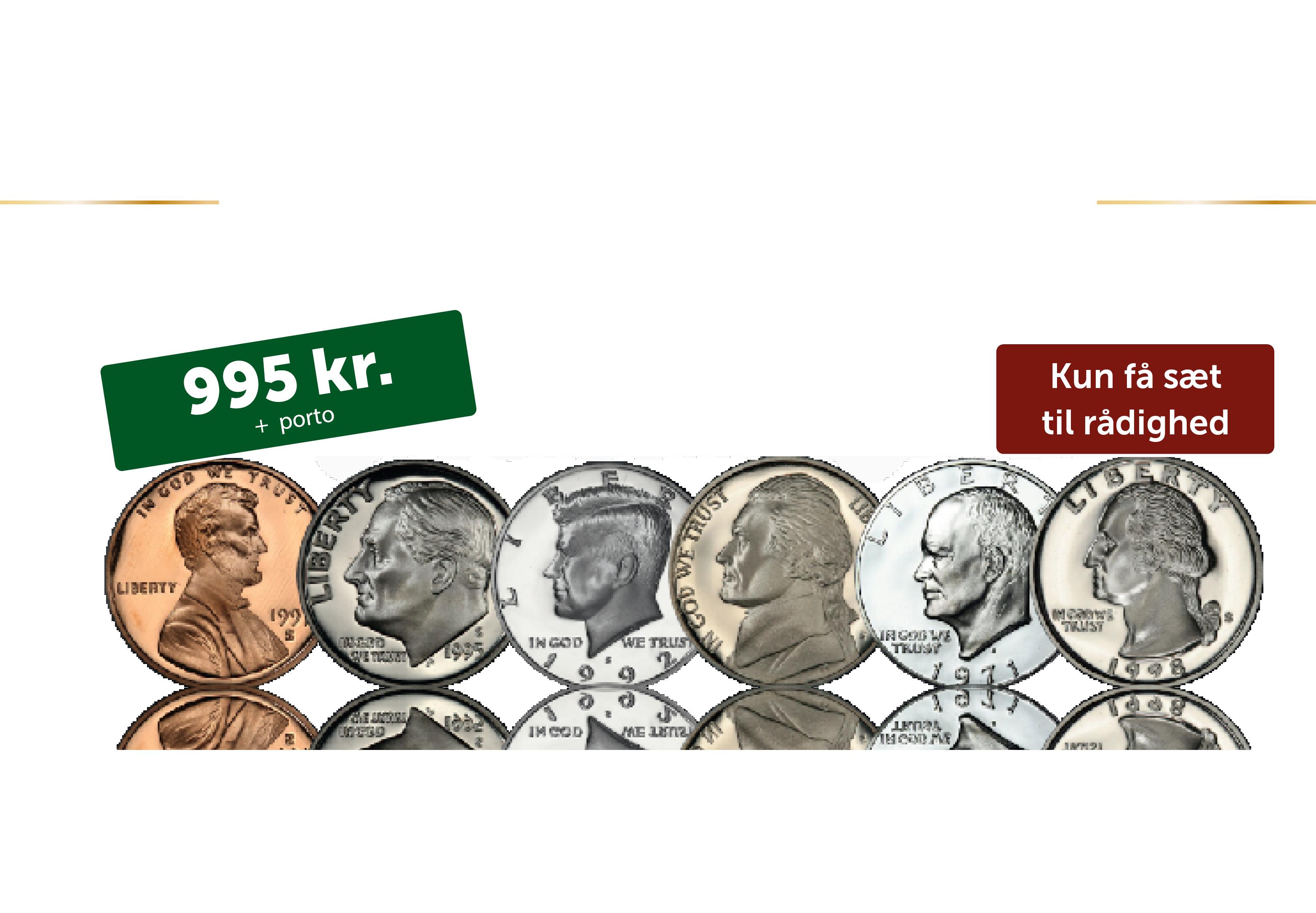 Et komplet amerikansk præsidentsæt