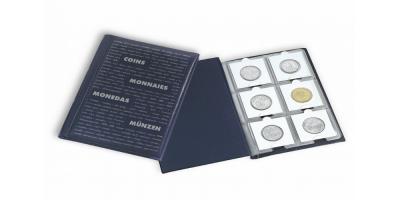 ROUTE 60M lommealbum til 60 møntholdere