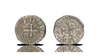 Sølvdenier fra Tempelriddernes tid i Frankrig